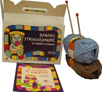 Barnas strikkepakke